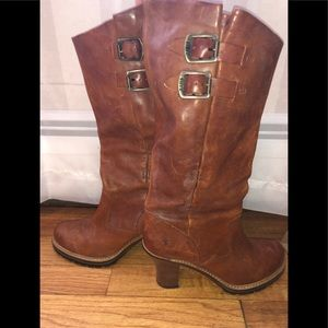 Frye Mildred Pull on knee boots